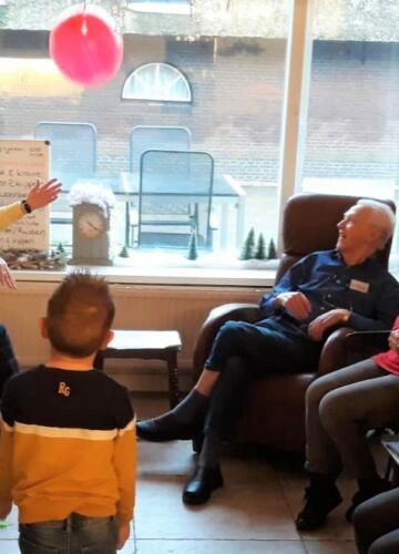 2020-01-03 bezoek kinderopvang Het bonte koetje uit Montfoort