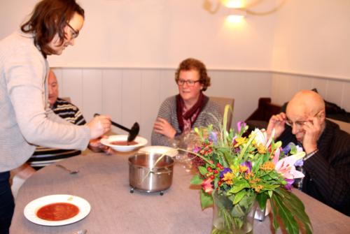2015 Warme maaltijd tussen de middag
